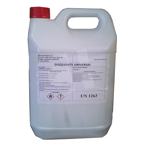 DISOLVENTE UNIVERSAL (25LTRS)