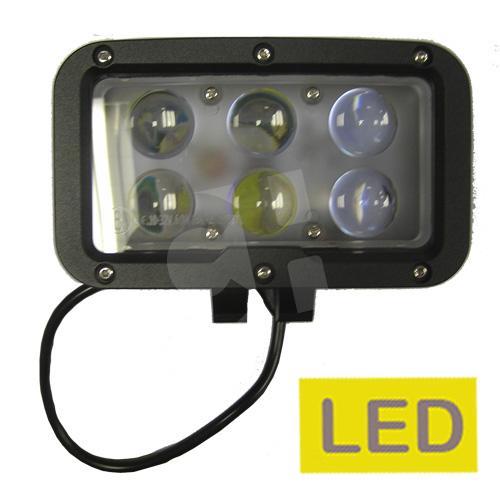 a08afef51e2 novedad FARO LARGO ALCANCE LED 6 LED 4200 Lm 60w