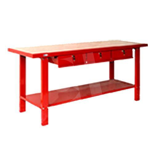 Mesa trabajo con 3 cajones for Mesas de trabajo para taller